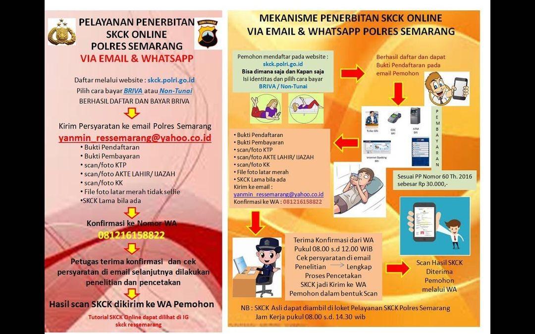Kini Buat Skck Di Polres Semarang Bisa Lewat Online Jatengdaily Com